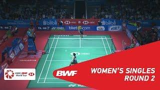 WS | Gregoria Mariska TUNJUNG (INA) vs Ratchanok INTANON (THA) [4] | BWF 2018