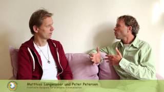 Matthias Langwasser und Peter Petersen zeigen praktische Beispiele für achtsame Kommunikation