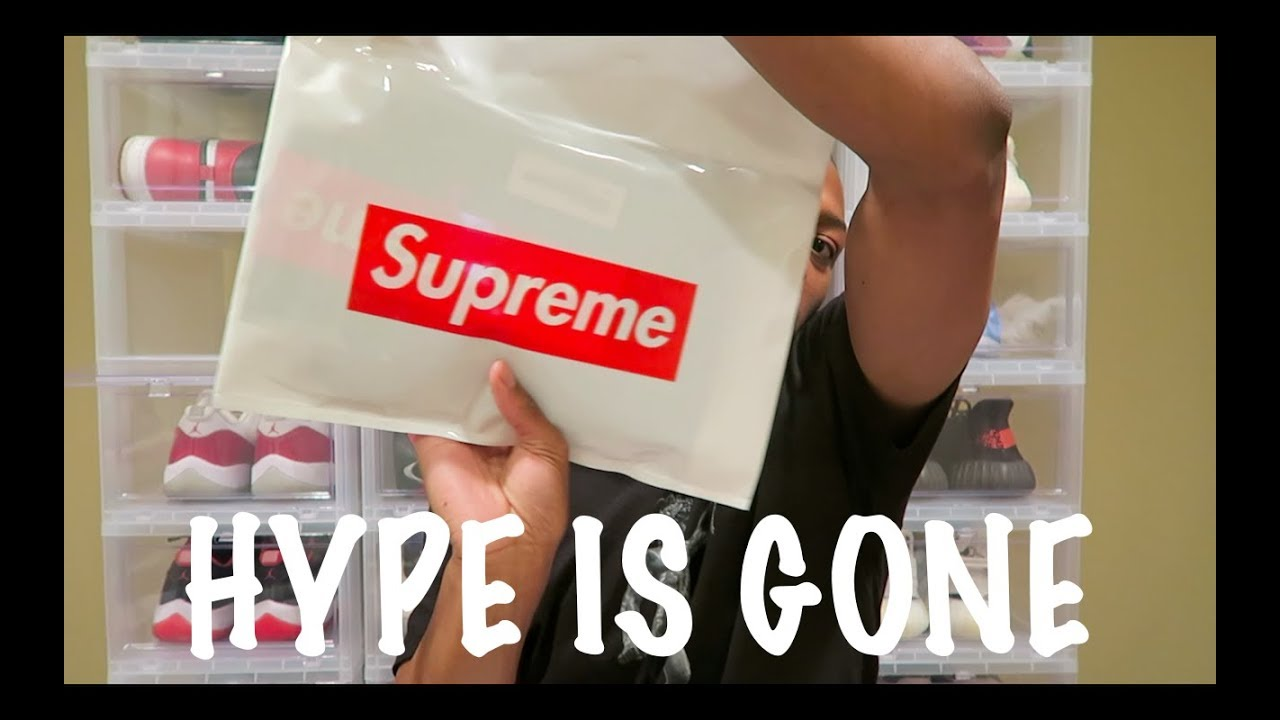 Selling Supreme On StockX!!! - YouTube