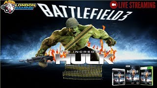 BATTLEFIELD 3 THE INCREDIBLE HULK XBOX ONE X LIVE GAME PLAY