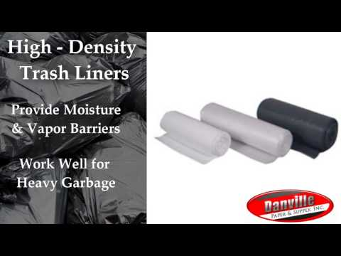 Trash Can Liners Danville | Bulk Trash Bags Eastern IL | Garbage Bags in Bulk Illinois
