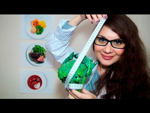 How To Lose Weight - Nutritionist ASMR Doctor Roleplay Medical Exam