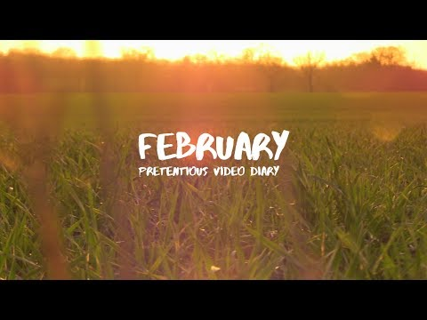 February 2017: Pretentious Video Diary Continues
