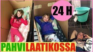 24H PAHVILAATIKOSSA HAASTE ft. tyttäret