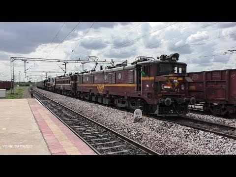 First time Hauled by AC Locomotives ?? | 11013 LTT CBE Kurla Express - Indian Railways
