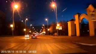 Supra SCR-537M. Ночная съемка