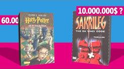 Die 10 größten Bestseller, die du gelesen haben MUSST