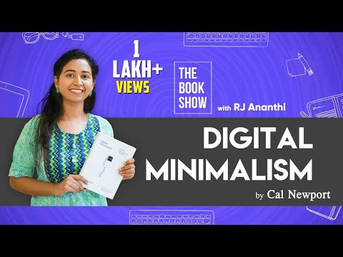 How To Reduce Smartphone Addiction? Digital Minimalism Review | The Book Show ft. RJ Ananthi |