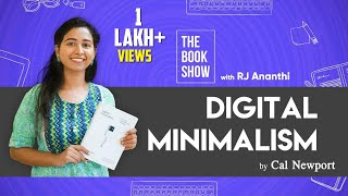 Digital Minimalism by Cal Newport   The Book Show ft. RJ Ananthi   Suthanthira Paravai