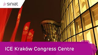 ICE Kraków Congress Centre i systemy suchej zabudowy Siniat