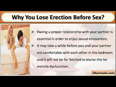How to get an erection before sex
