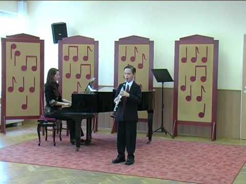Lakatos Béla klarinétverseny Szarvas 0328 II helyezett