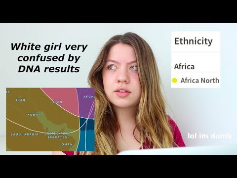 White girl very confused by DNA results | Ancestry DNA