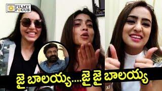 Balakrishna Craze in Paisa Vasool Movie Team. #PaisaVasool Movie St...