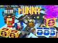 Pixel Gun 3D - Funny Momments #1 {Girl Sheriff in the Battle Royale}