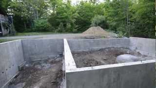 Concrete Foundation Review - 9 - My Garage Build Hd Time Lapse