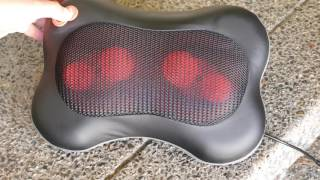 Tomight Shiatsu Massage Pillow Review: Budget Tech!