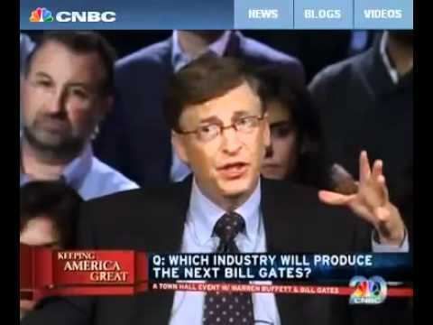Bill Gates shares the next industry to generate wealth and control your destiny.- Energy