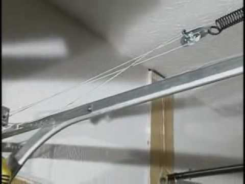 garage door extension springsG Removing EZ Set Torsion or EZ Set Extension Springs  YouTube