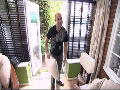 Conservatory Blinds 4 Less on ITV's 60 Minute Makeover (60mm)