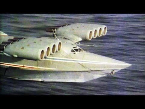 Unusual Aircraft - Ekranoplan the Leviathan