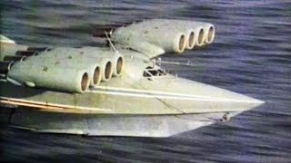 unusual aircraft ekranoplan the leviathan