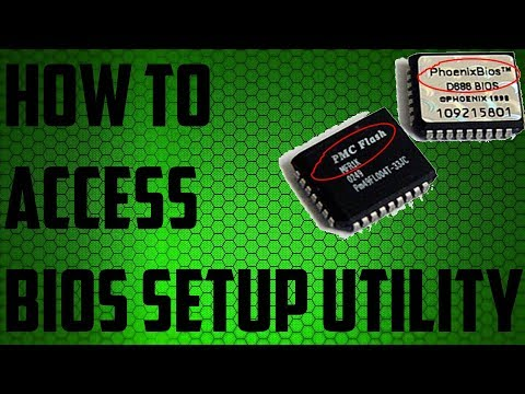 How To Access UEFI/BIOS/CMOS Setup Utility or On Any Computer ✔️