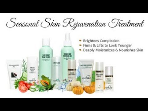 Autumn/Winter Seasonal Skin Rejuvenation Facial Treatment Demonstration on Myself
