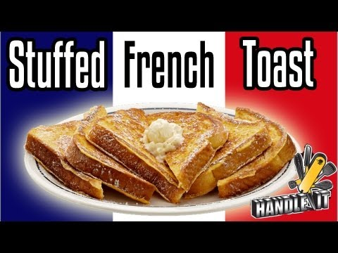 french toast oreo stuffed french toast recipe dishmaps oreo stuffed ...