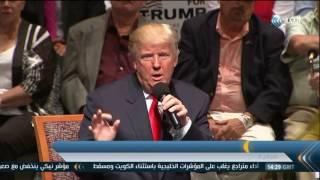 بالفيديو.. ترامب يفوز على كلينتون في أحدث إستطلاع رأي