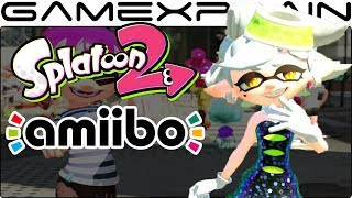 Callie & Marie amiibo in Splatoon 2 (Special Gear Unlocks + Bonus Letters!)