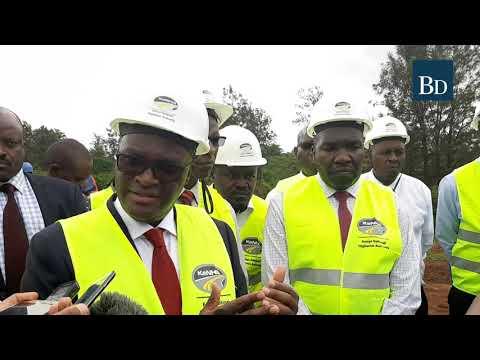 Ruiru - Githunguri - Uplands road upgrade to ease traffic from the Mt. Kenya region