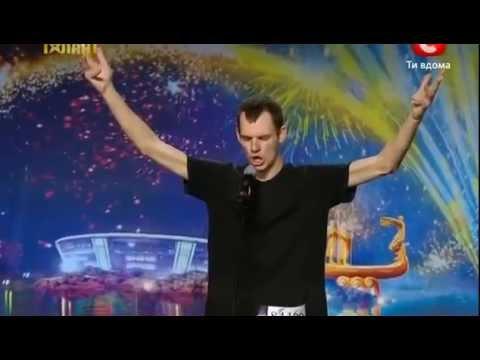 Видео, Украина мае талант 4   Подборка веселых номеров
