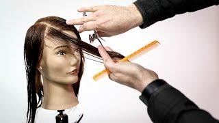 What is a good haircut for fine hair? Layered Haircut Tutorial | MATT BECK VLOG S2 21