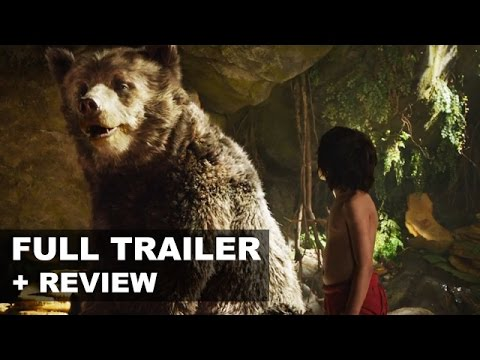 The Jungle Book 2016 Official Trailer + Trailer Review SUPER BOWL - Beyond The Trailer