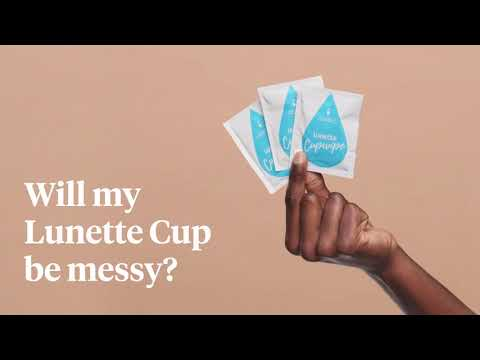 Lunette  Thailand FAQs | Will my Lunette Cup be messy?