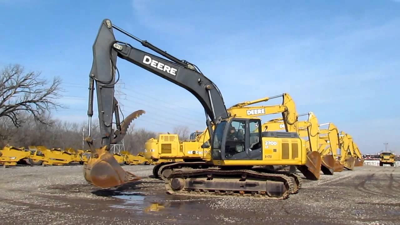 John Deere 270 Hydraulic Excavator W Tbg Pads 42 Inch
