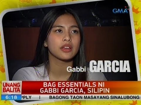UB: Bag essentials ni Gabbi Garcia, silipin