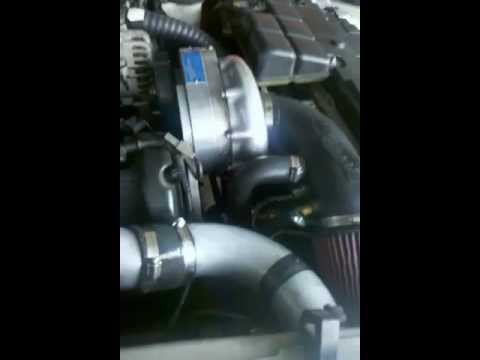 Supercharged Mustang BOV Flutter