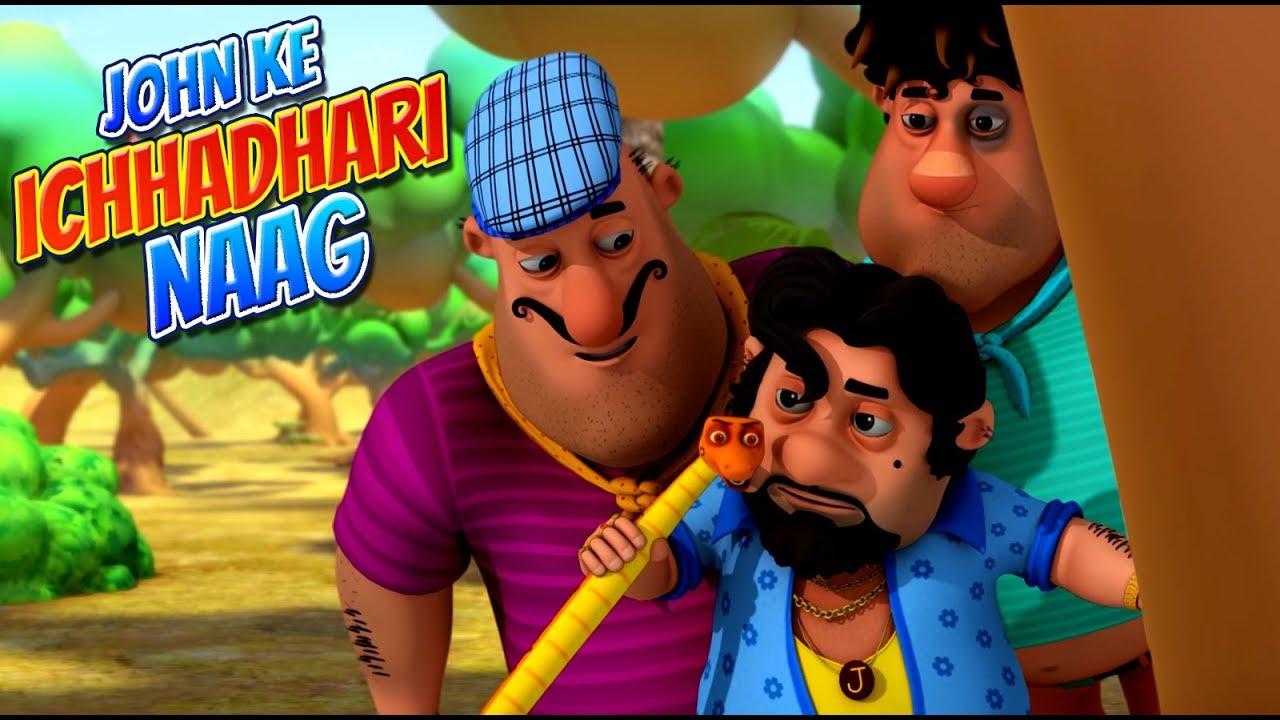 Download Motu Patlu | हिंदी कार्टून | Motu Patlu in Hindi | 2019 |  John Ek Ichhadhari Naag