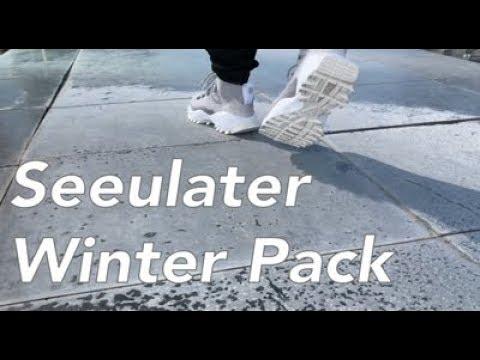 Adidas Seeulater PK Winter Pack On feet NOIRFONCE Sneaker
