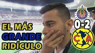 CHIVAS 0-2 AMÉRICA || UNA VERGÜENZA || EL MEJOR COLOR