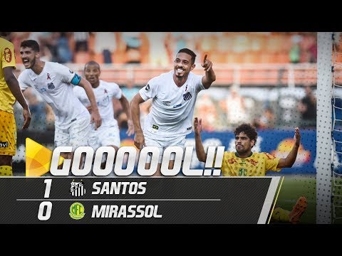 Santos 1 x 0 Mirassol | GOL | Paulistão (09/02/19)
