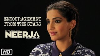Subscribe to FoxStarHindi YouTube channel Here : http://goo.gl/tq91n6 Some of the biggest names of Hindi films inspire the cast and crew on the sets of Neerja.