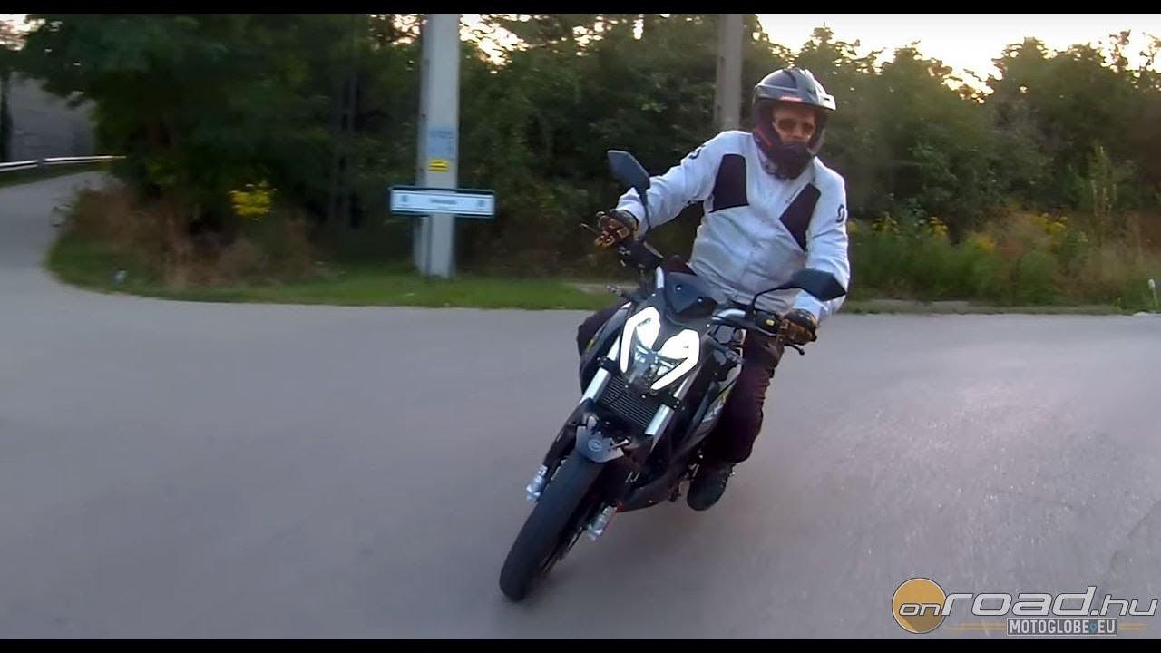 Keeway RKF 125 review 4K - Onroad bike