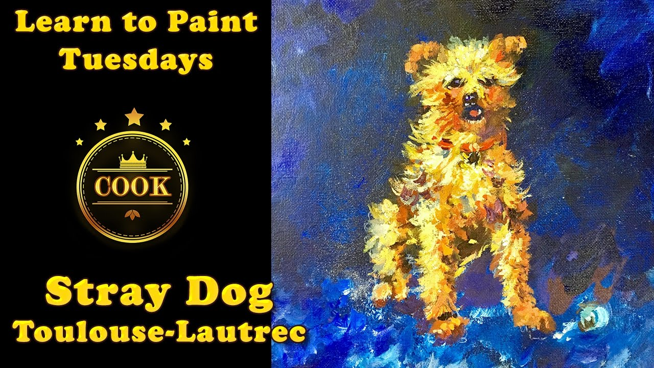 Painting Dogs In Acrylic Paint