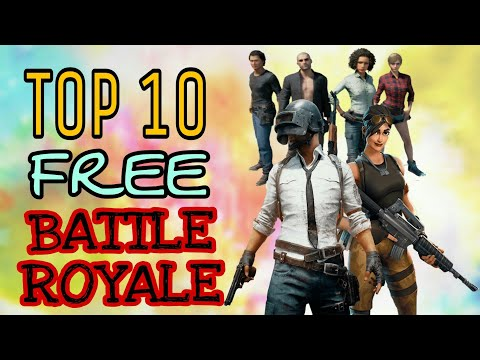 TOP 10 NEW FREE BATTLE ROYALE PC GAMES ON STEAM(2018)