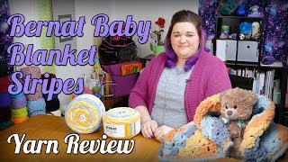 Bernat Baby Blanket Stripes Yarn Review