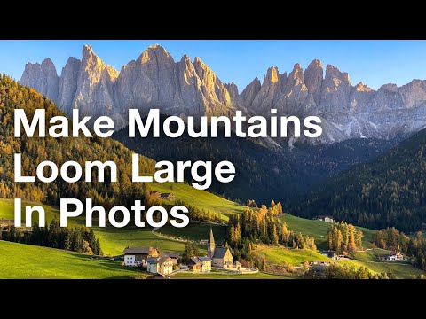 Simple Trick To Make Mountains Loom Large In Your iPhone Photos