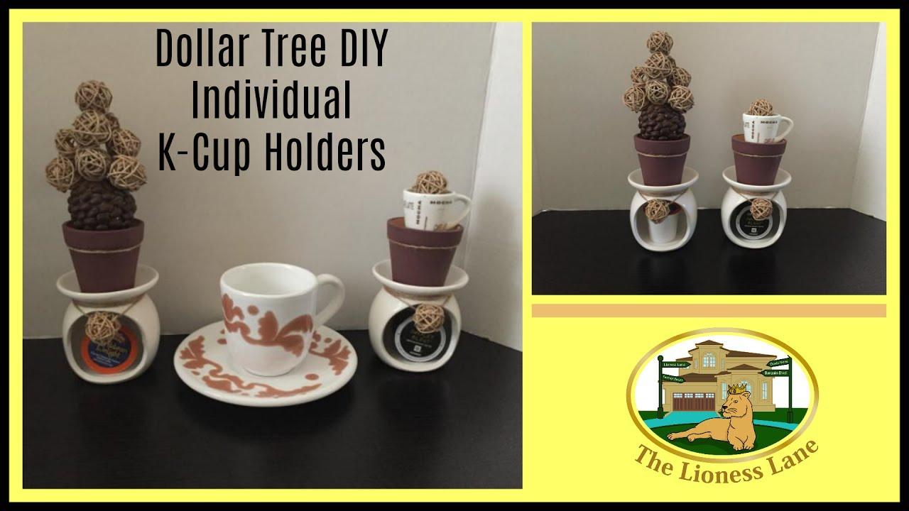 dollar tree diy k cup holder youtube. Black Bedroom Furniture Sets. Home Design Ideas